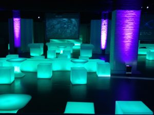 spectacular space LED furnishings