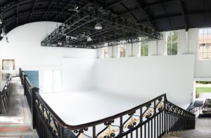 blank canvas venue empty space