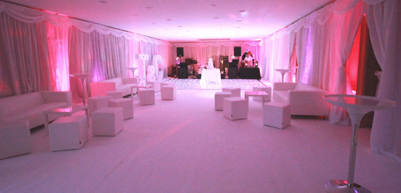 white carpet venue