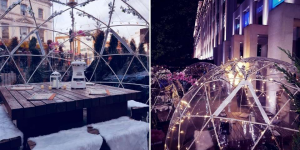 London City igloos this winter